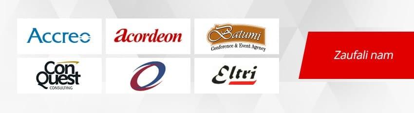 Lista klientów firmy Exigo